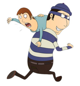 Kidnapping clipart.