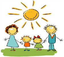 Kids And Parents Clipart.