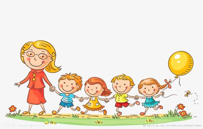 Image result for teacher with children clipart.