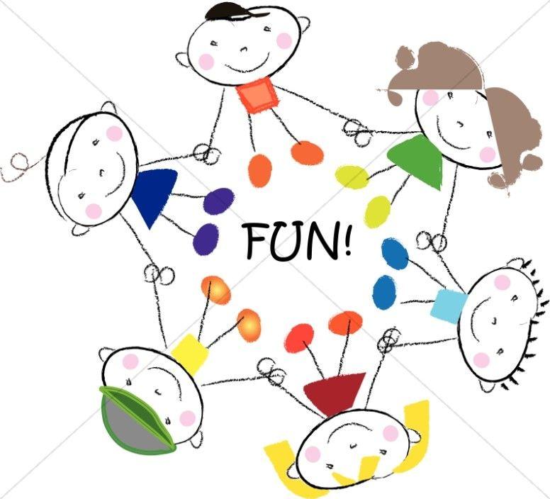 Fun Circle of Kids.
