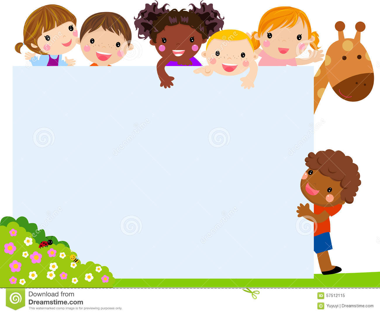 Kids background clipart 13 » Clipart Station.