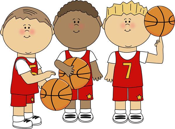 Kids playing basketball clip art clipart images gallery for free.