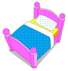 Download kids bed clip art clipart Bed.