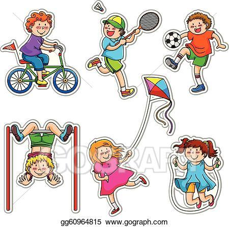 Kids being active clipart 7 » Clipart Portal.