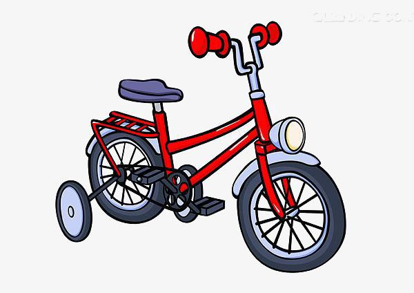 Kid On Bike Clipart.