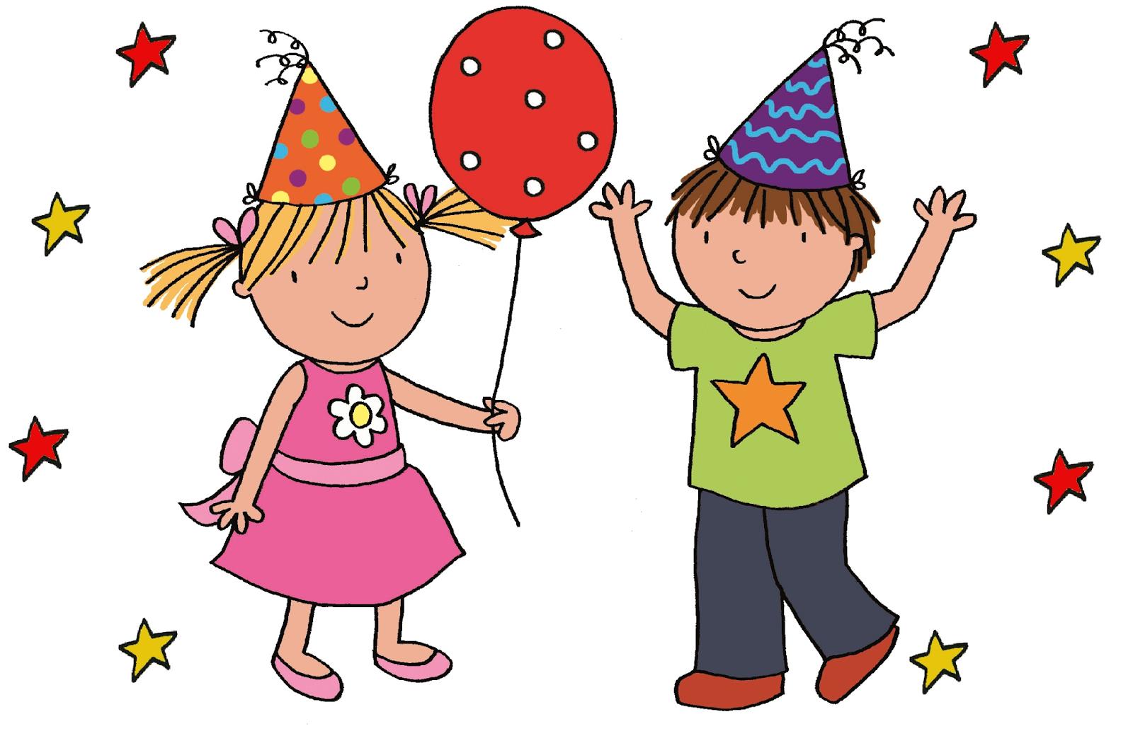 Child Birthday Clipart.