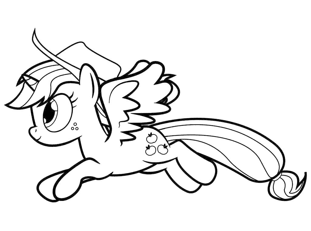 My Little MLP Clipart Pony Kids Black and White.