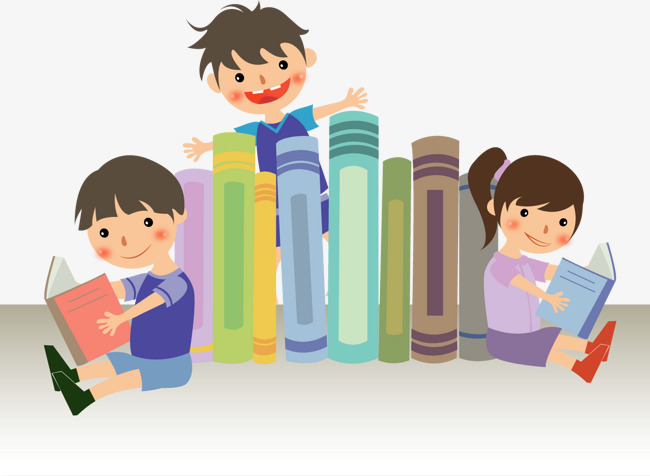Vector Reading Child, School Children, B #261493.