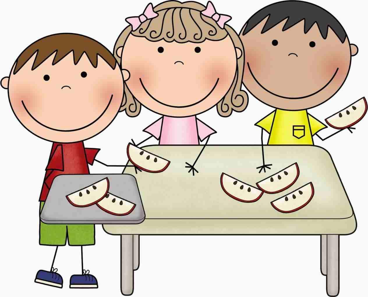 Stock rhshutterstockcom kids Children Eating Breakfast Clipart.