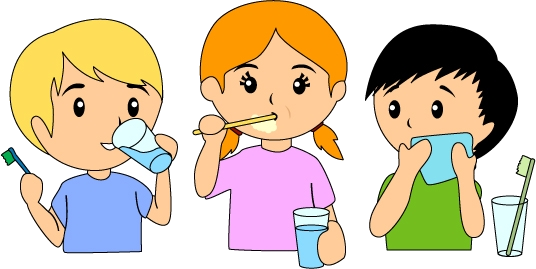 Brush Teeth Vector And Kid Brushing Clipart Favorite Clipartfancom.