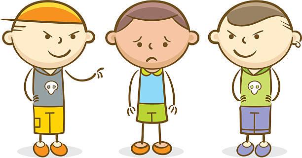 Best Bullying Children Illustrations, Royalty.