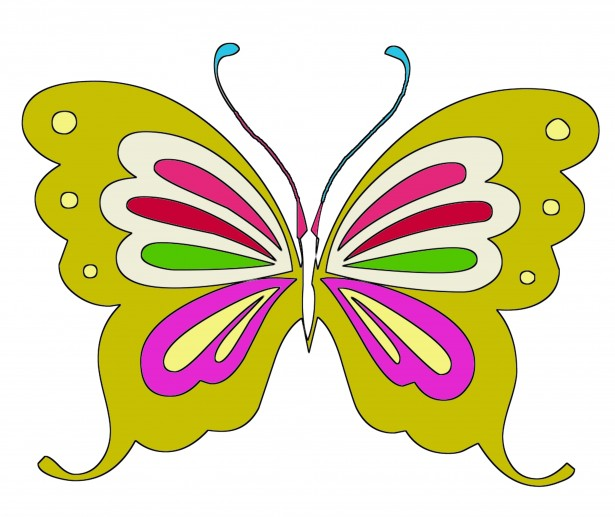 Butterfly clipart for kids 4 » Clipart Station.