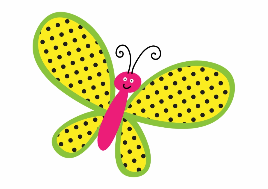 Clipart Girl Butterfly.