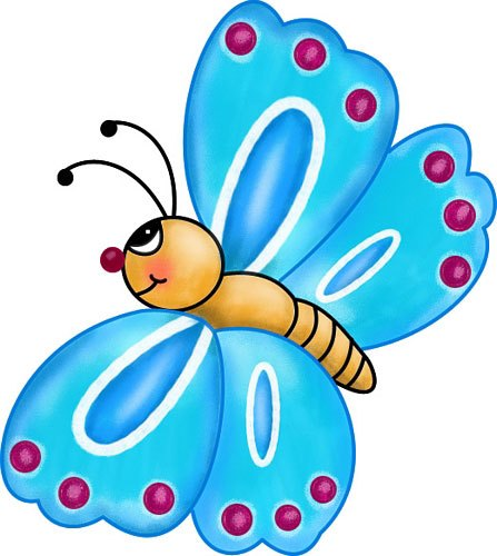 Butterfly clipart for kids 2 » Clipart Portal.