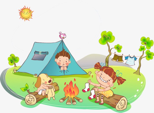 Kids at camp clipart 3 » Clipart Portal.