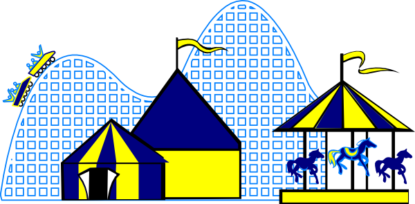 Carnival Rides Clipart.