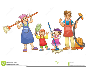 Chores Clipart Children.