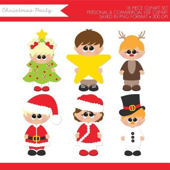 Christmas Kids Clipart,Christmas Clipart,Christmas Children.