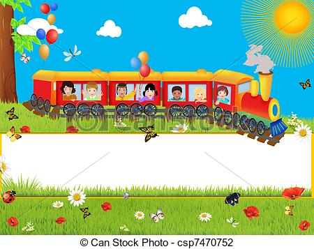 Clip Art of Background for children.