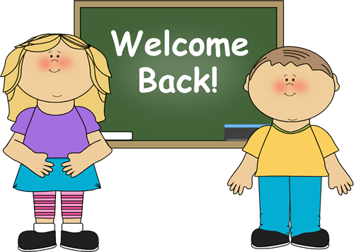 First Day Of School Kid Clipart.