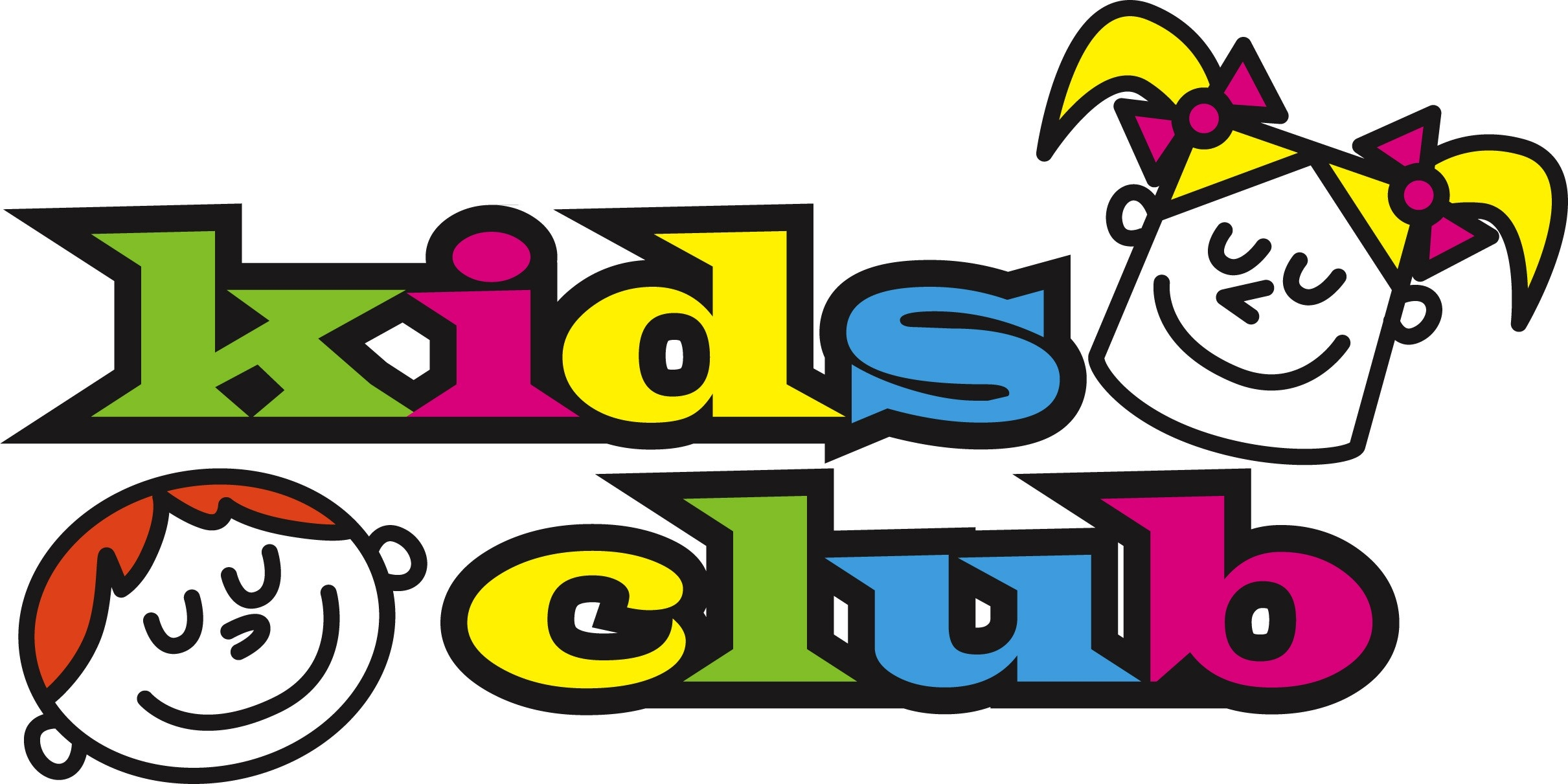 Kids clubs clipart.
