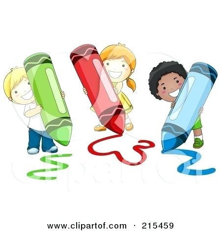 kid coloring clipart.