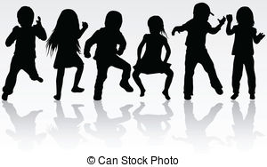 Children dancing Vector Clipart Royalty Free. 11,182 Children.