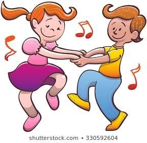 Cute kids dancing clipart 7 » Clipart Portal.