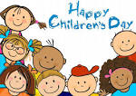 Kids day clipart.