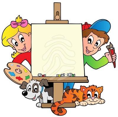 Art Kids Clipart.