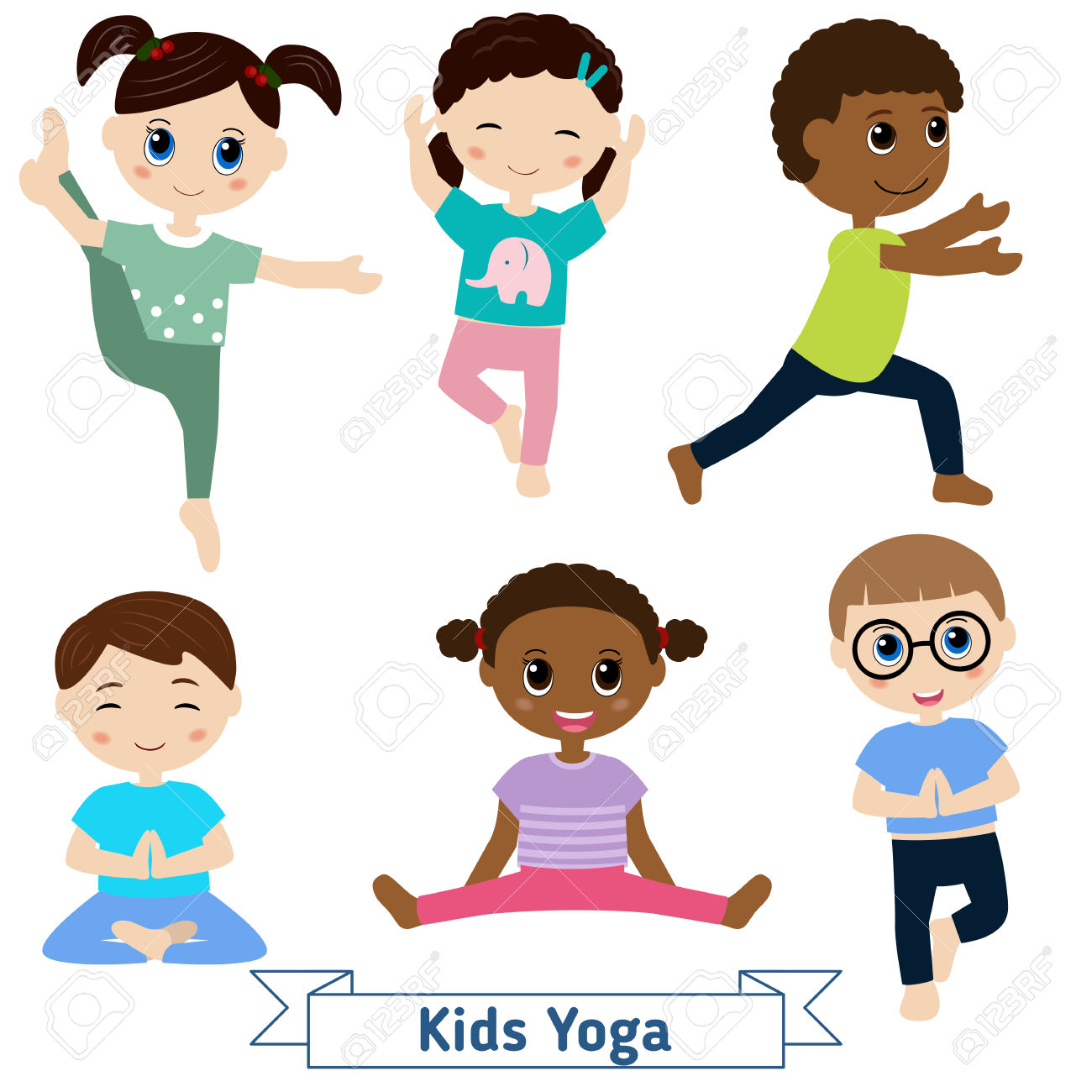 kids doing yoga clipart 20 free Cliparts | Download images ...