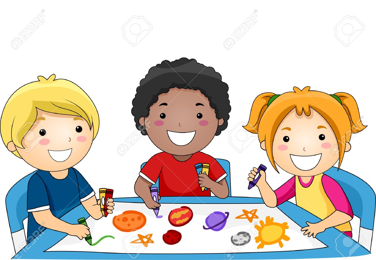 Kids drawing clipart 5 » Clipart Station.