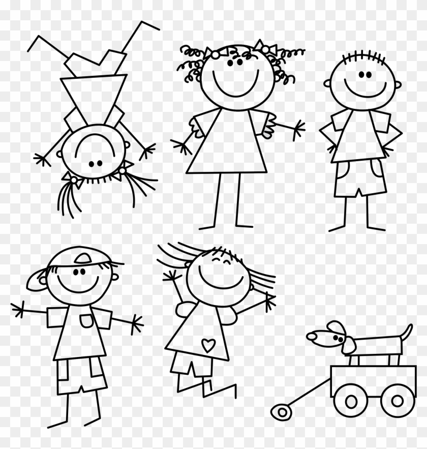 Child Outline Drawing At Getdrawings Com Free For Personal.