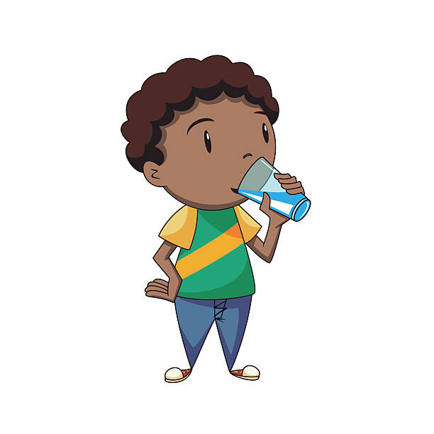 Kids drinking water clipart 9 » Clipart Station.