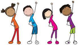 Kids exercise clipart 4 » Clipart Portal.