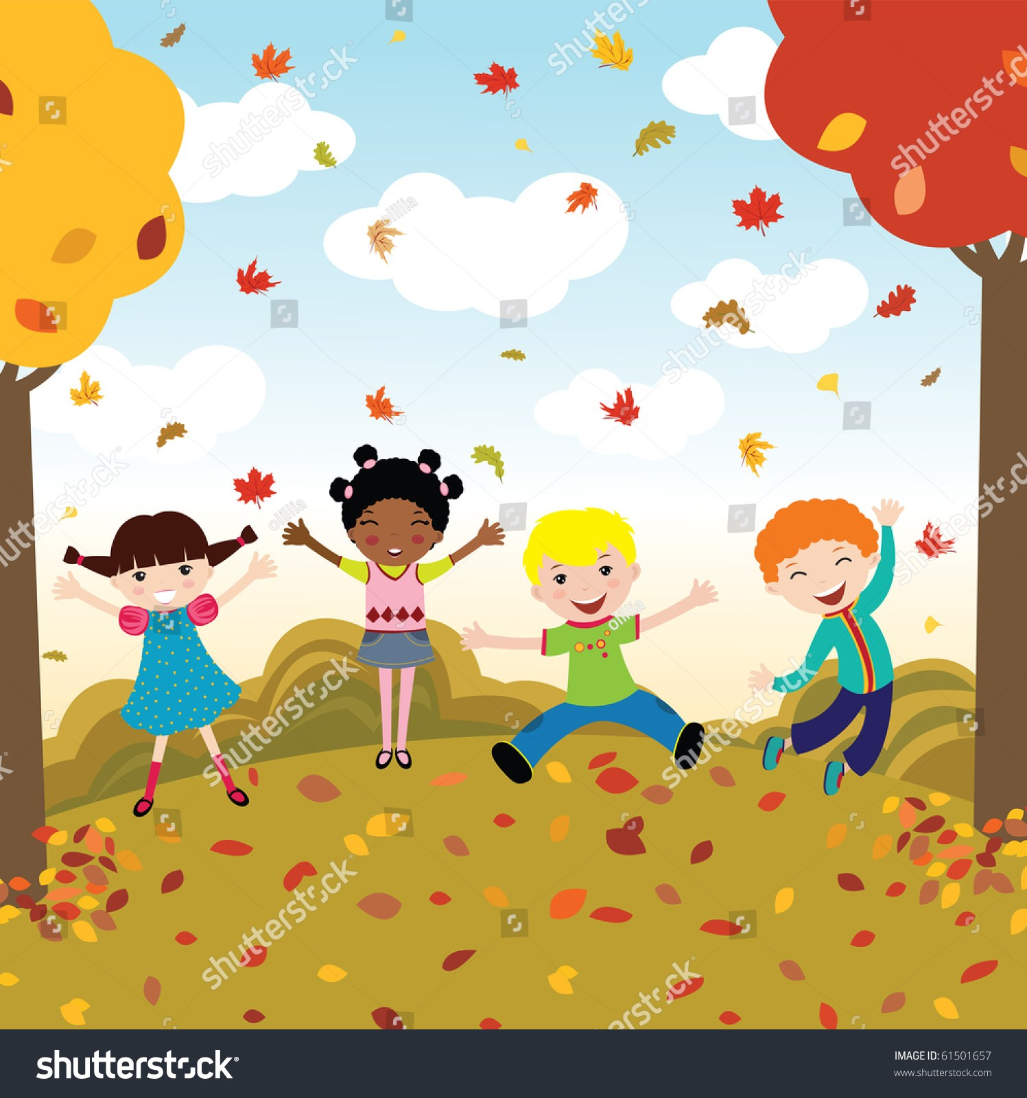 Fall clipart for kids 1 » Clipart Portal.