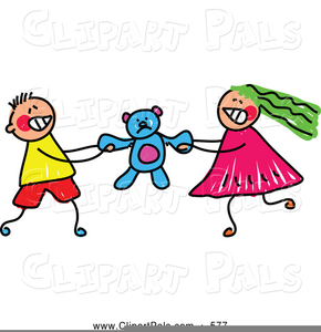 Free Clipart Kids Fighting.