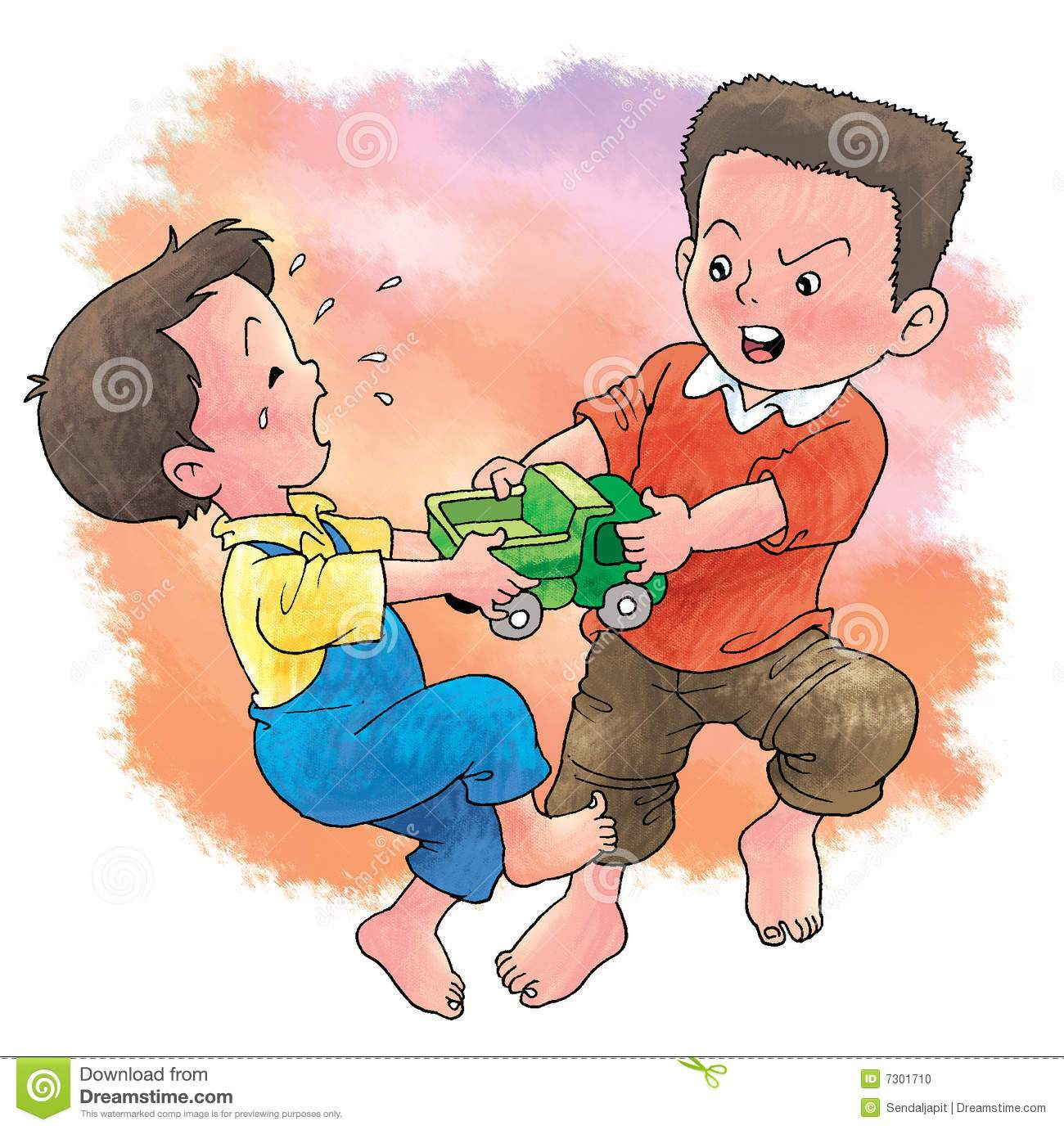 Kids fighting over toys clipart 6 » Clipart Portal.