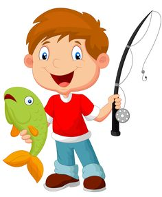 Kid fishing clipart 6 » Clipart Station.