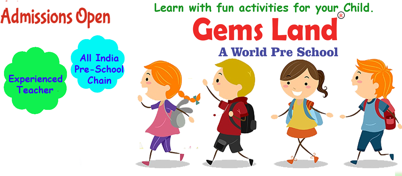 Download Gemsland Kids Preschool Franchise For Play School.