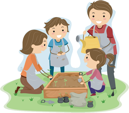 Kids gardening clipart clipart images gallery for free download.