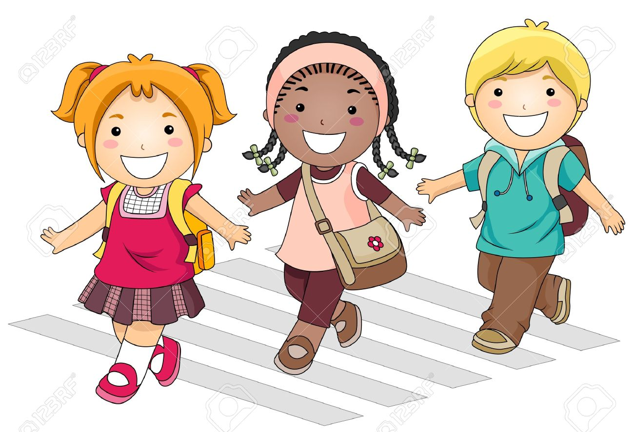 Kids going to school clipart 3 » Clipart Station.