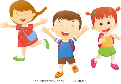 Kids going to school clipart 5 » Clipart Station.