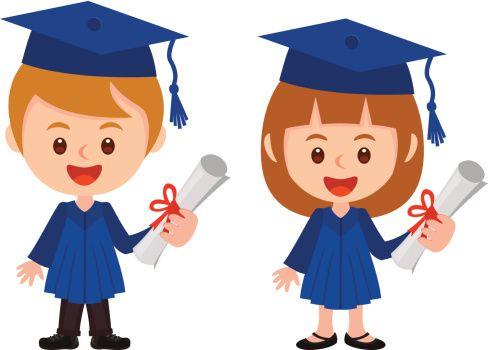 Kids graduation clipart 4 » Clipart Station.