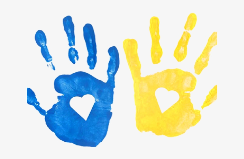 Handprint Clipart Transparent Background.