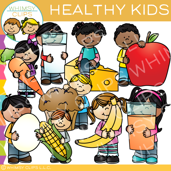 Healthy clipart childrens health, Healthy childrens health.