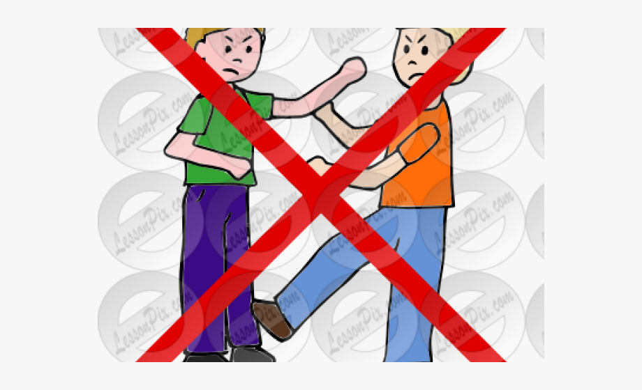 Do Not Fight Sign, Cliparts & Cartoons.