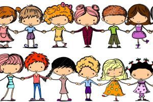 Kids holding hands free clipart 4 » Clipart Portal.