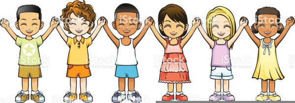 Free Clipart Kids Holding Hands.
