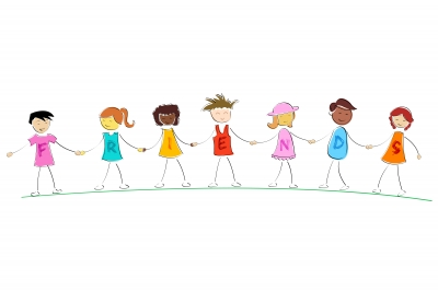 Free Black And White Children Holding Hands, Download Free.